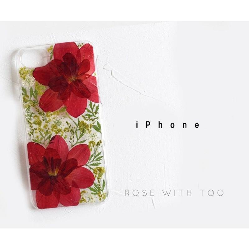 iPhone / 押し花ケース 20190618_3