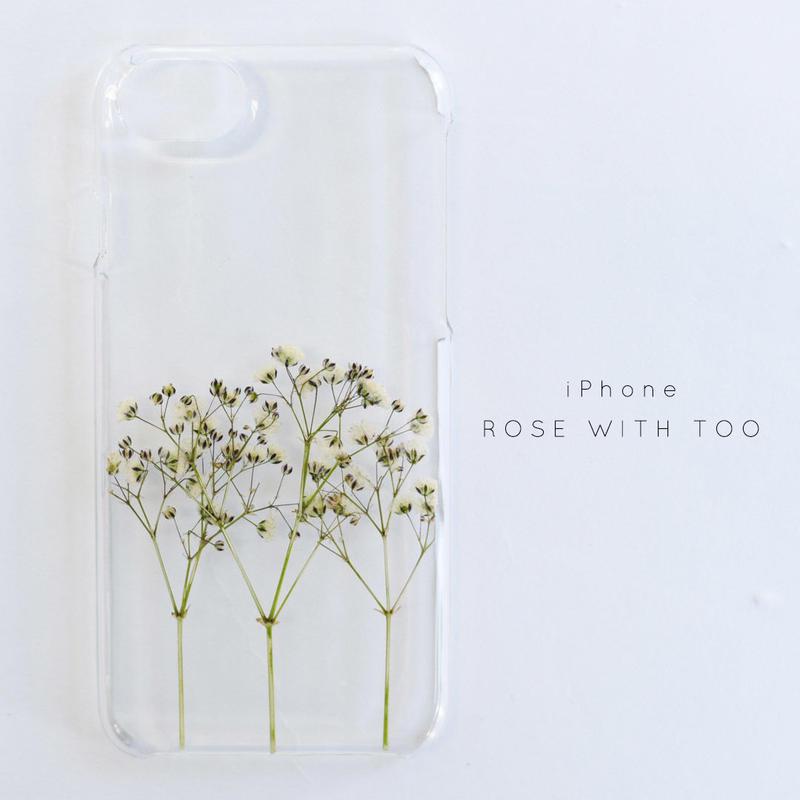 iPhone / 押し花ケース20190626_8
