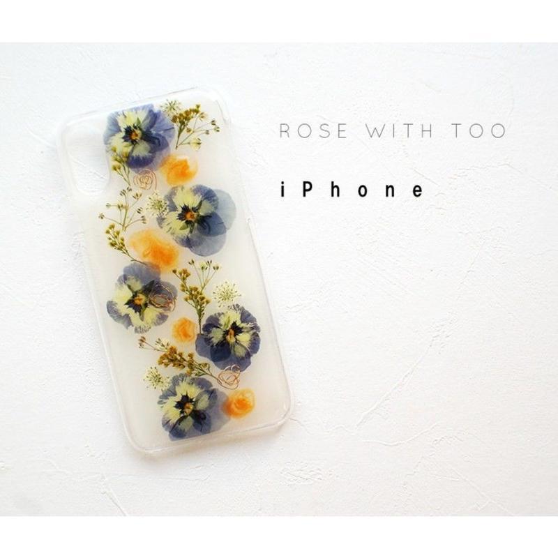 iPhone /  押し花ケース20190717_10