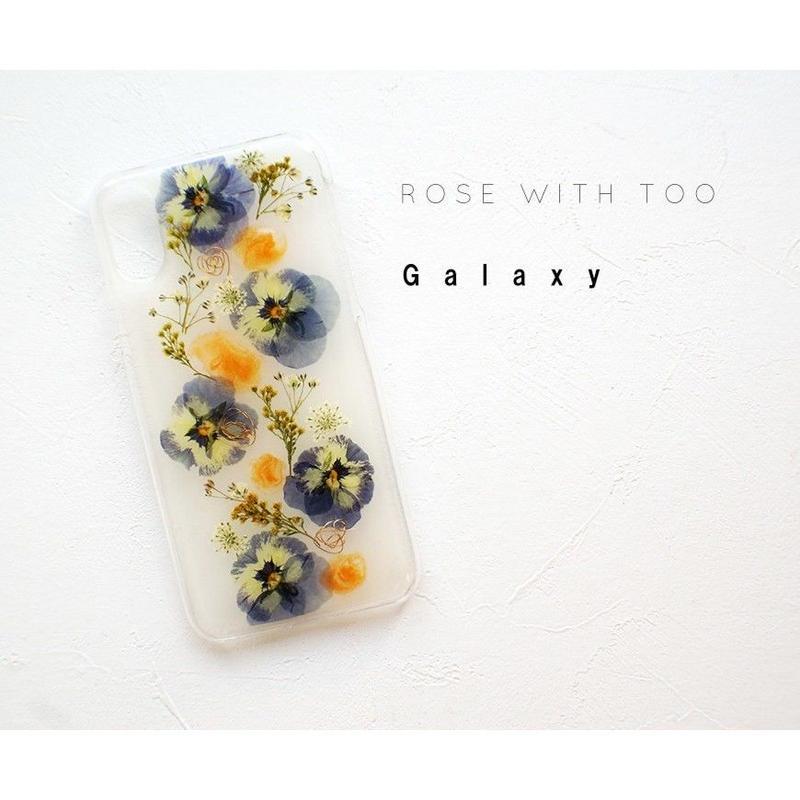 Galaxy / 押し花ケース20190717_8