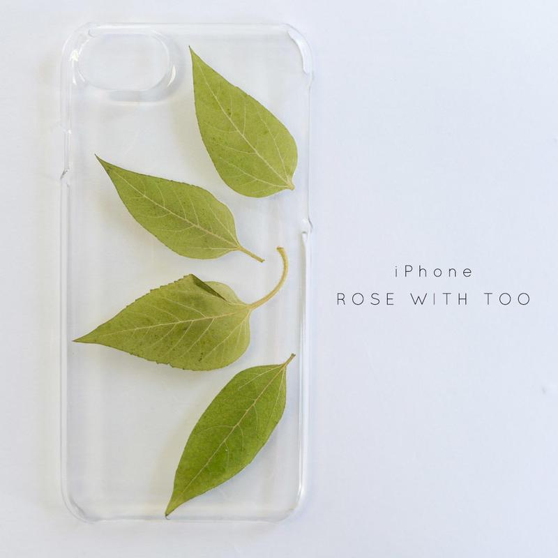 iPhone / 押し花ケース20190626_6