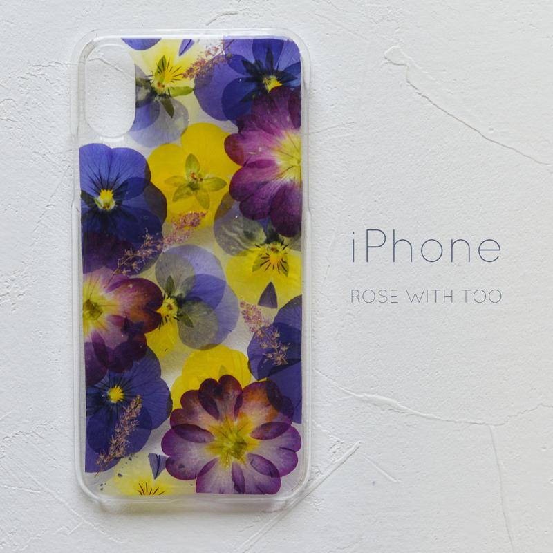 iPhone / 押し花ケース 190424_3