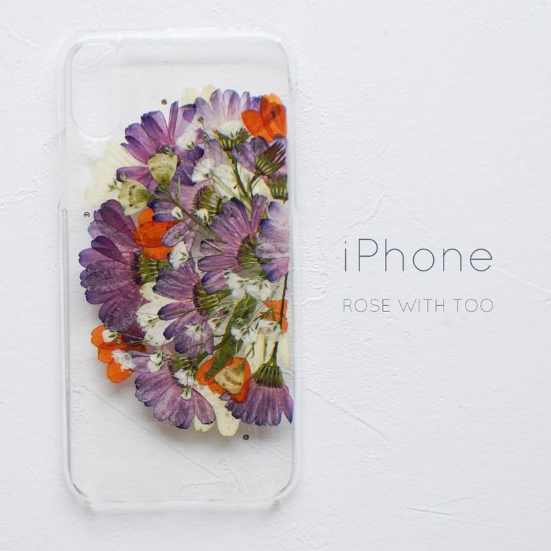 iPhone / 押し花スマホケース 20190409_1