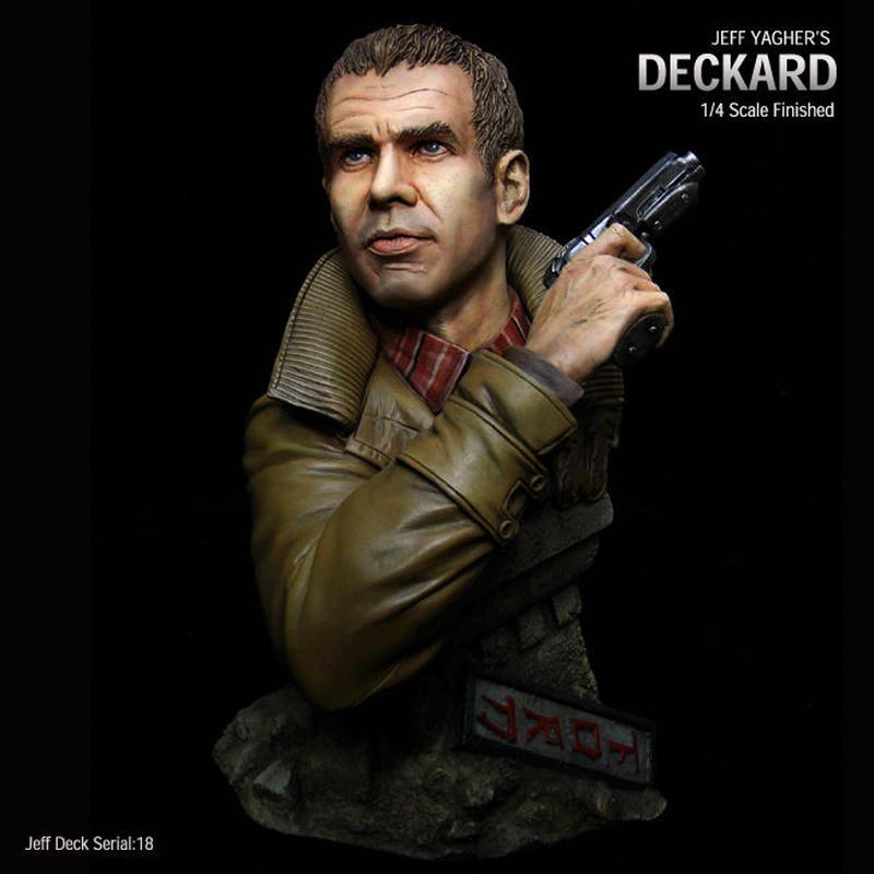 Deckard Bust 完成品 【Serial NO.18】