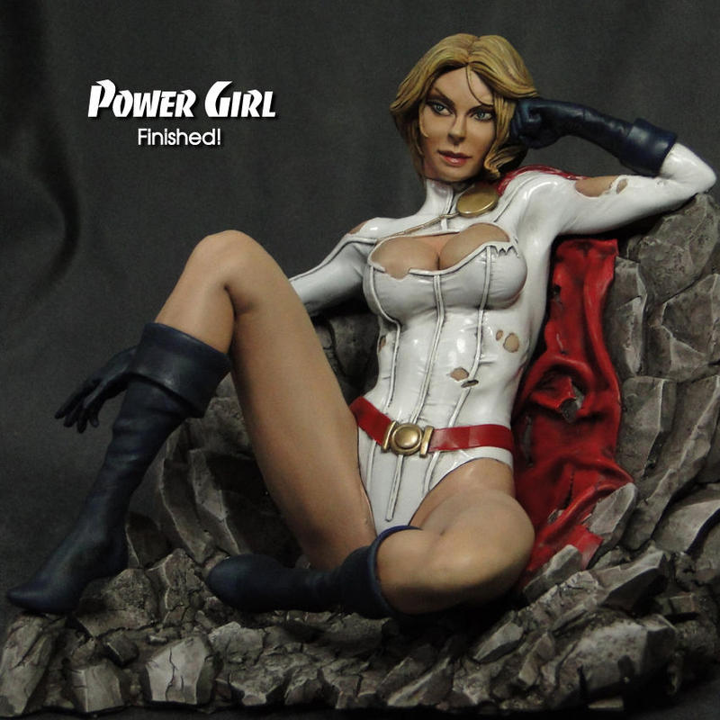 Power Girl 完成品