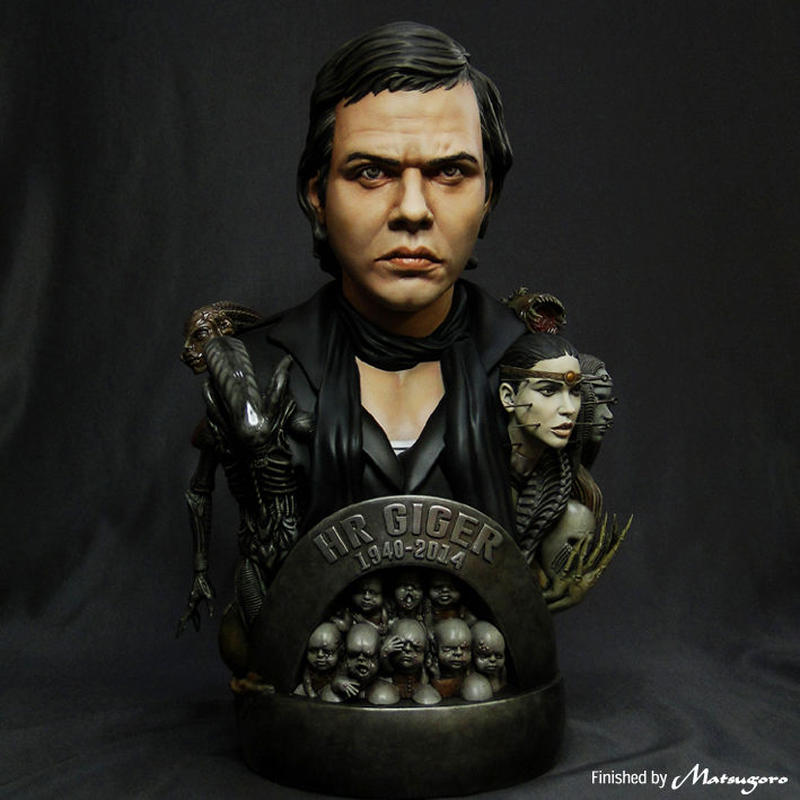 Giger Tribute Bust Kit【取り寄せ】
