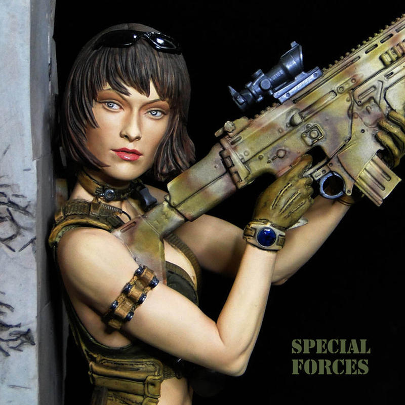 Special Forces 完成品