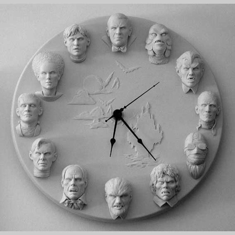 Universal Monsters Clock kit