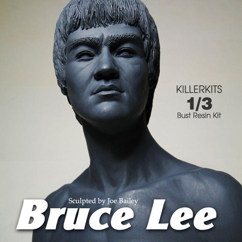 Bruce Lee 1/3scale  Bust キット【入荷中】