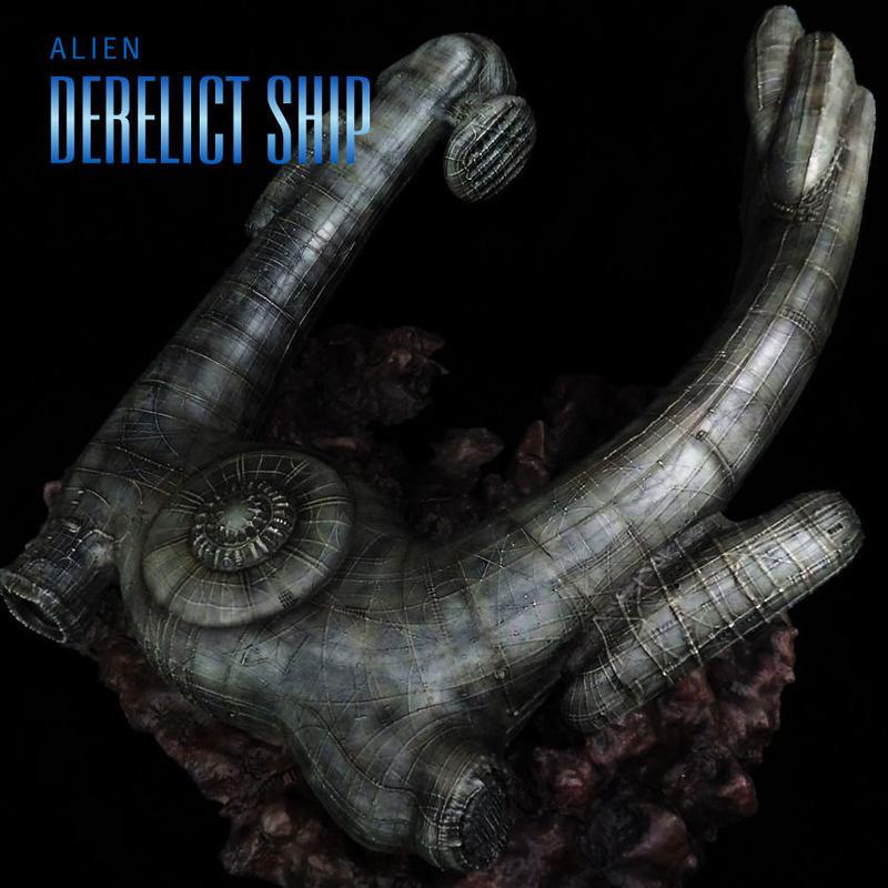 Derelict ship完成品(18inch)