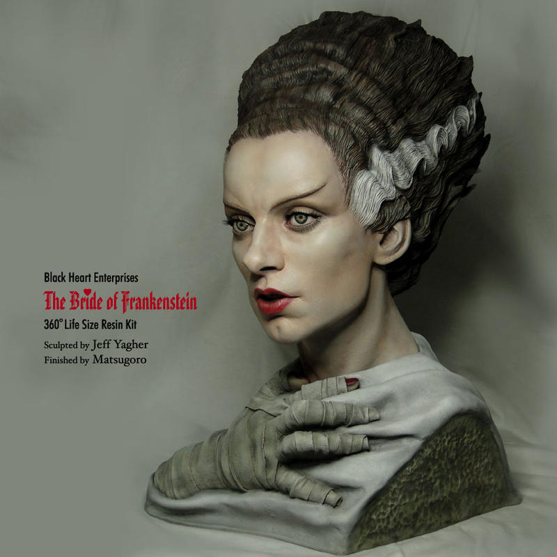 The Bride of Frankenstein 完成品