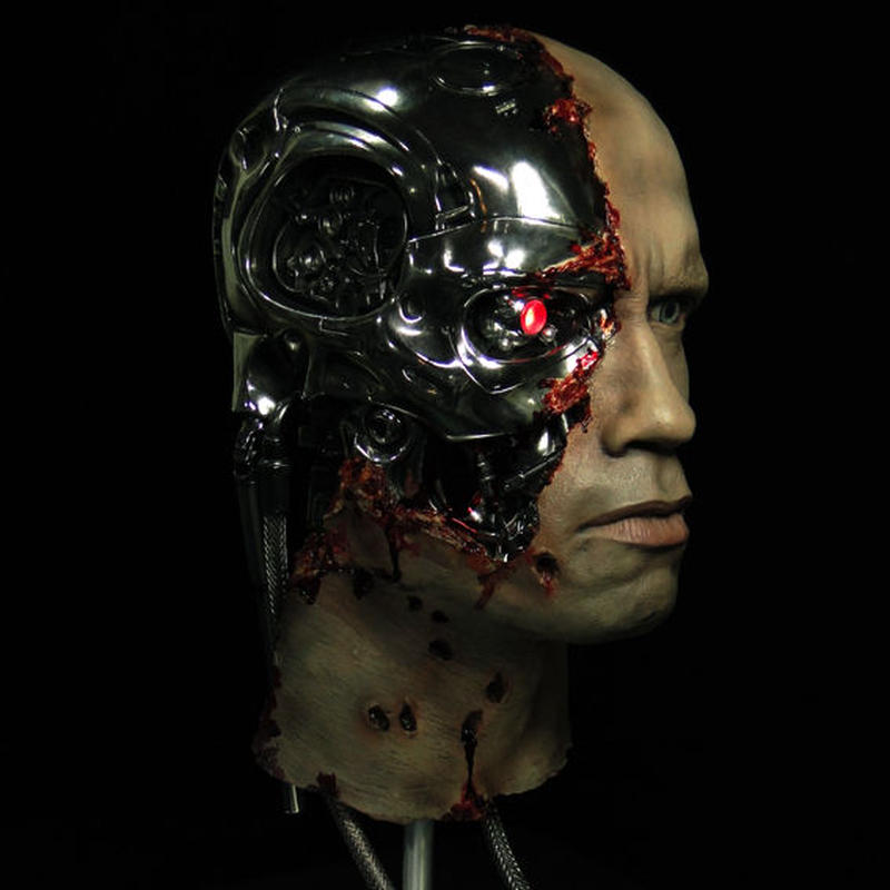 Super Custom T-800 SDS Damage Head