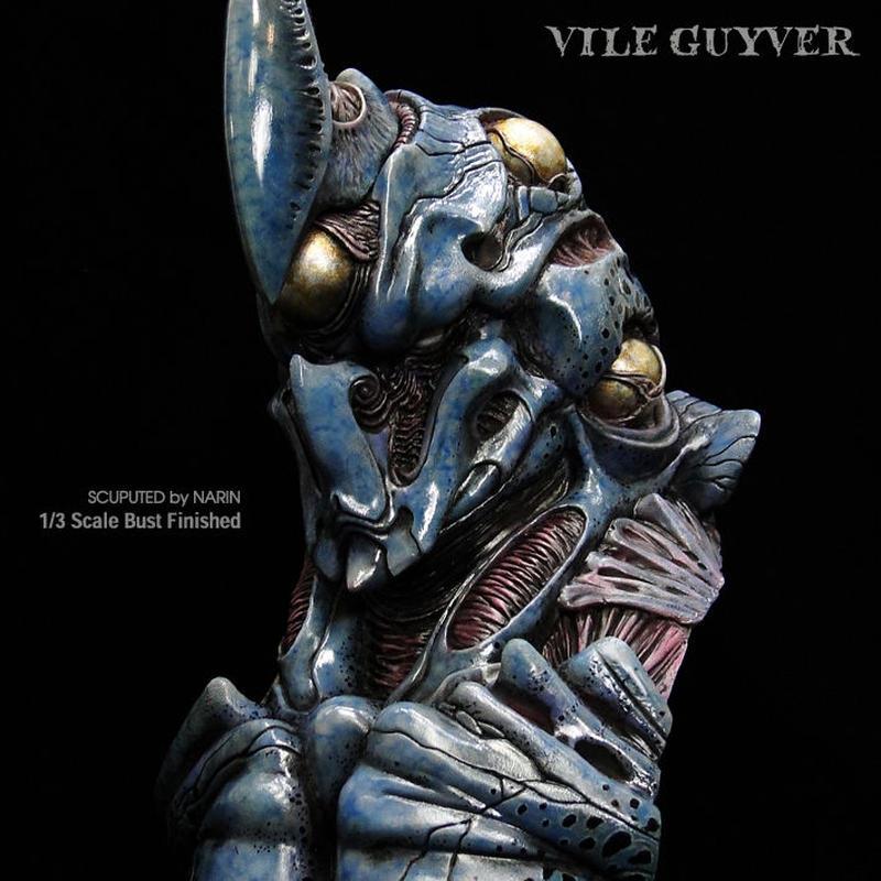 VILE GUYVER  1/3scale Bust  完成品