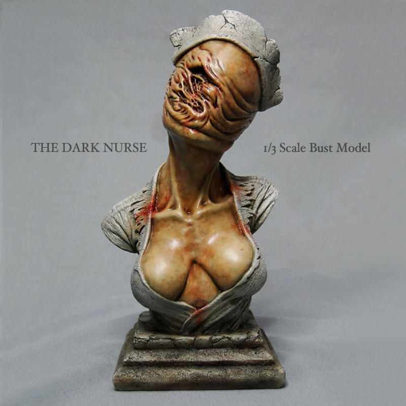The Dark Nurse Bust 完成品【その2】
