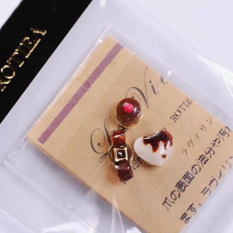 【期間限定】ValentineバレンタインNail Chocoチョコ掛けセット