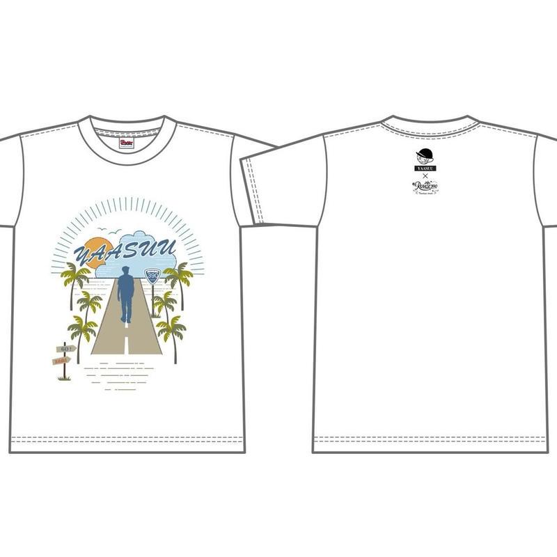 YAASUU コラボTシャツ/ホワイト