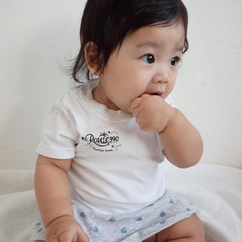 ベビーTシャツ/ホワイト