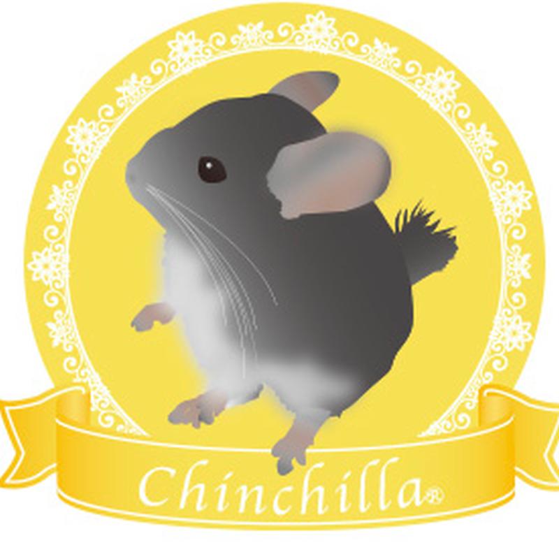 チンチラ リボンステッカー(レモン)