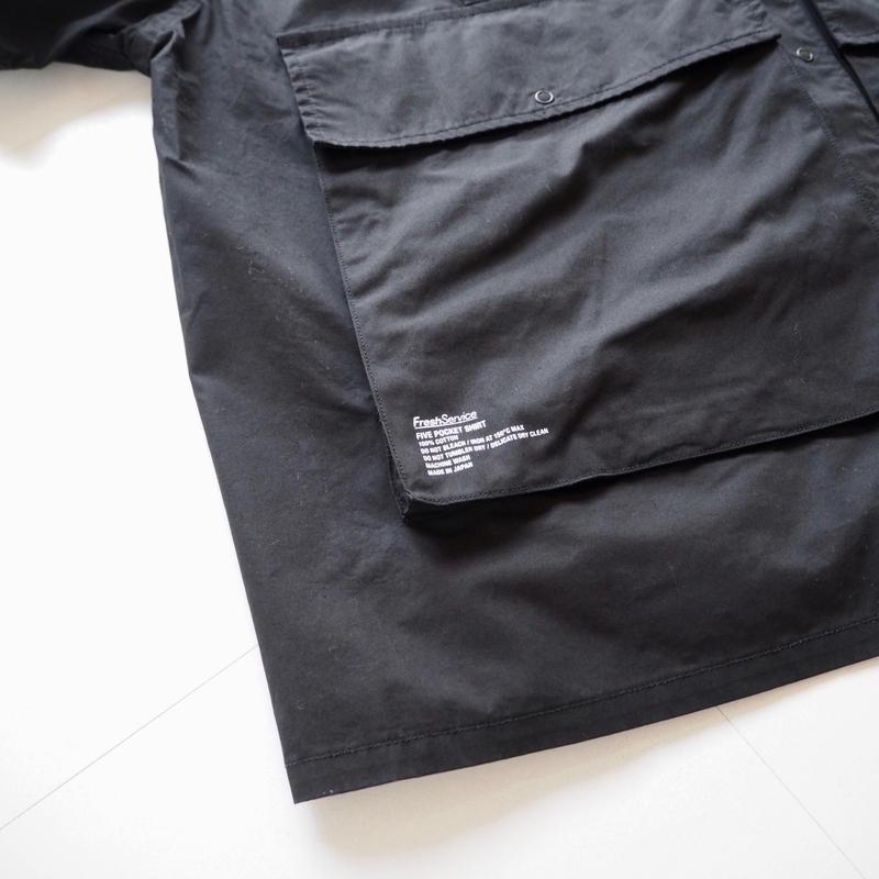 "FreshService ""Five Pocket Shirt""  Black unisex"