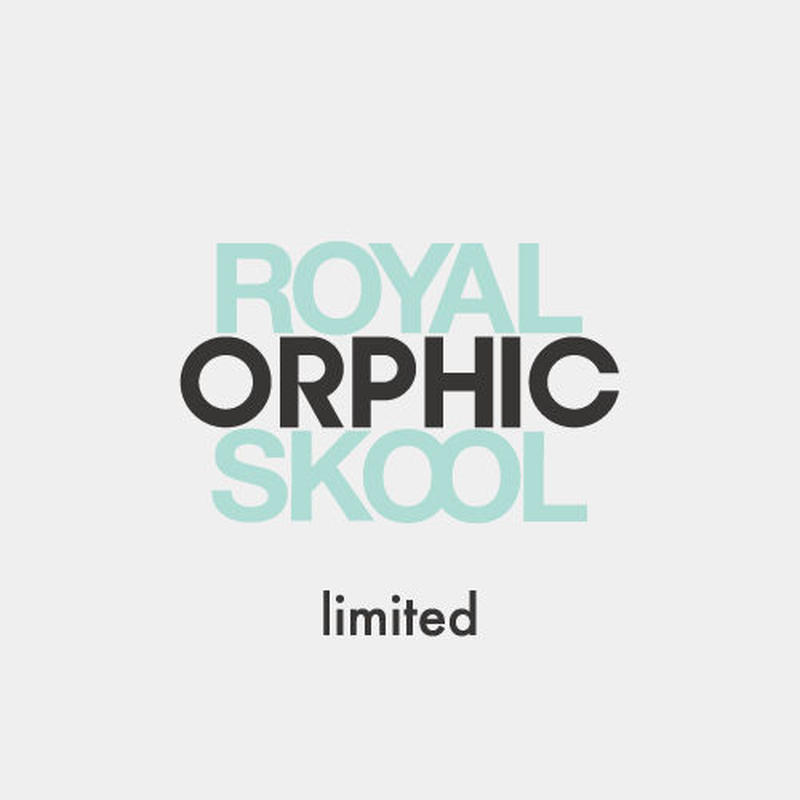 "ORPHIC ""UNION -ROYALSKOOL exclusive-"" Tiffany"