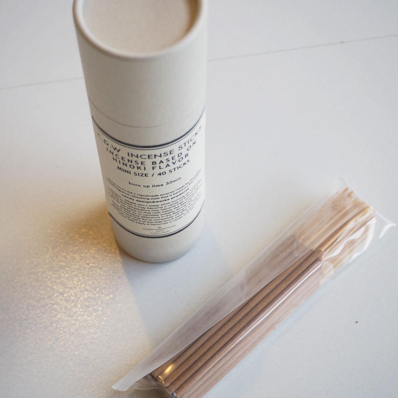 """C.D.W.  """"Incense One Month Pack""""  #04 Cypress flavor"""