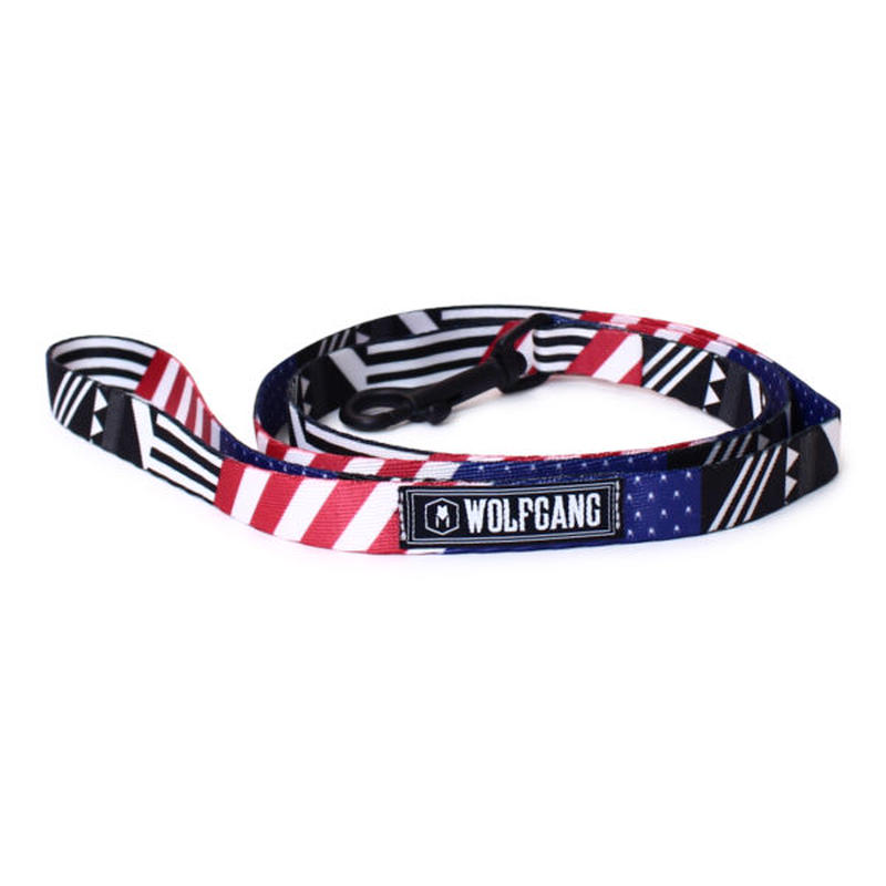 WOLFGANG MAN&BEAST PledgeAllegiance LEASH( S size ) WL-001-92