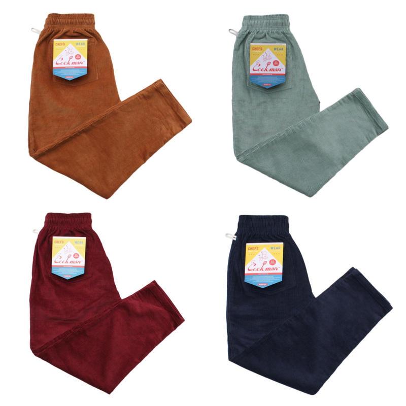 【Cookman】Chef Pants「Corduroy」