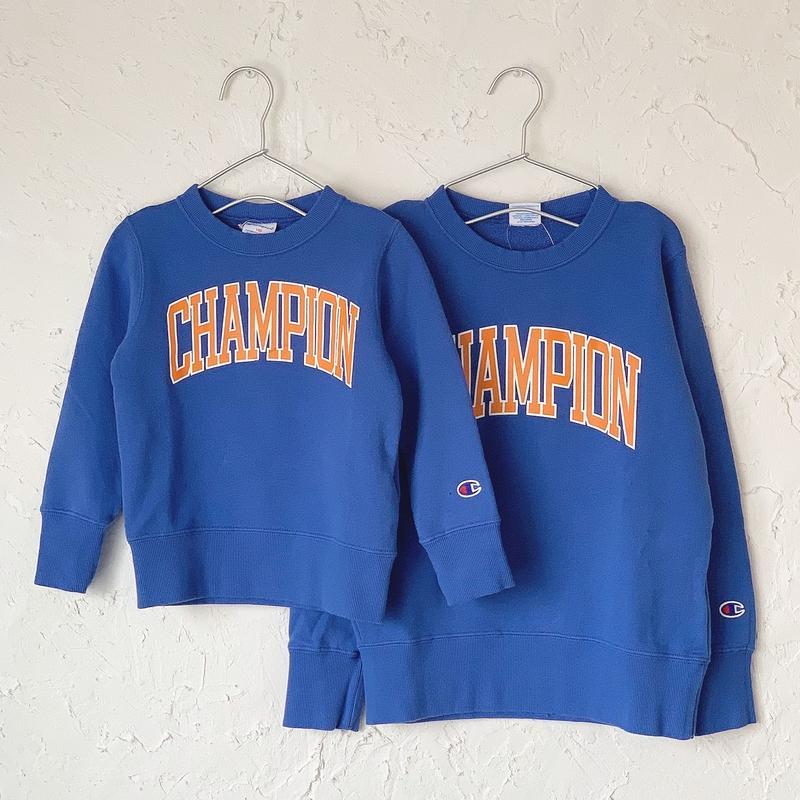 【Champion】クルーネックスウェット(BLUE)