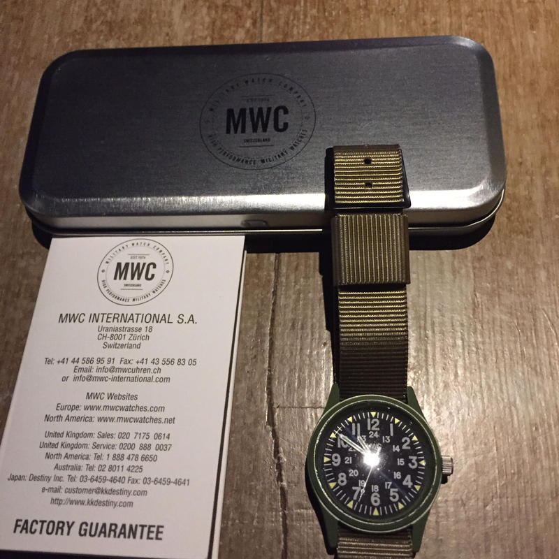 MWC CLASSIC RANGE QUARTZ WATCHES W-113QTZOL