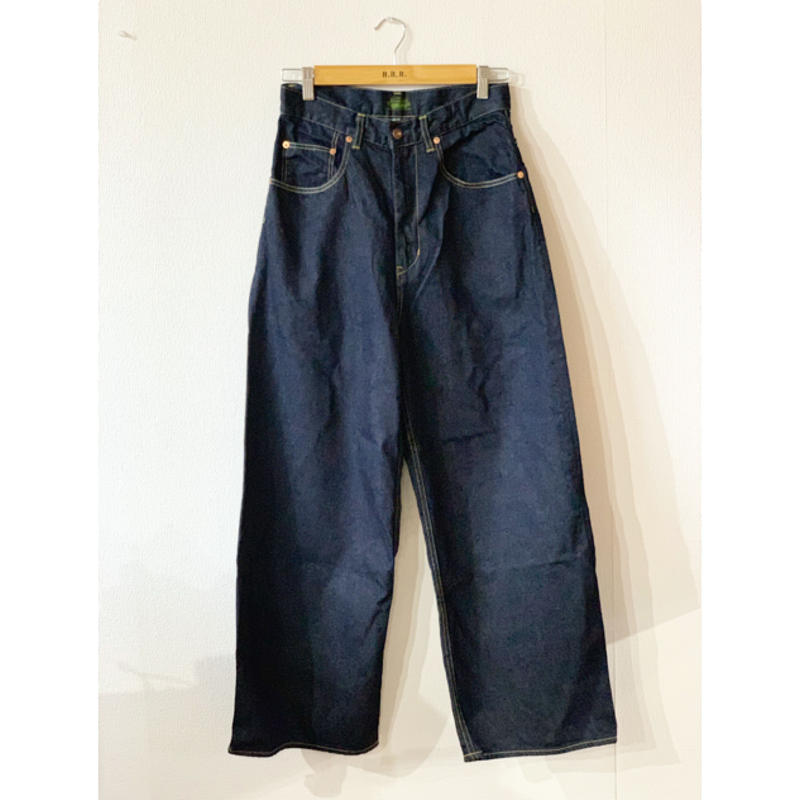 【GOHEMP】WIDE DENIM PANTS