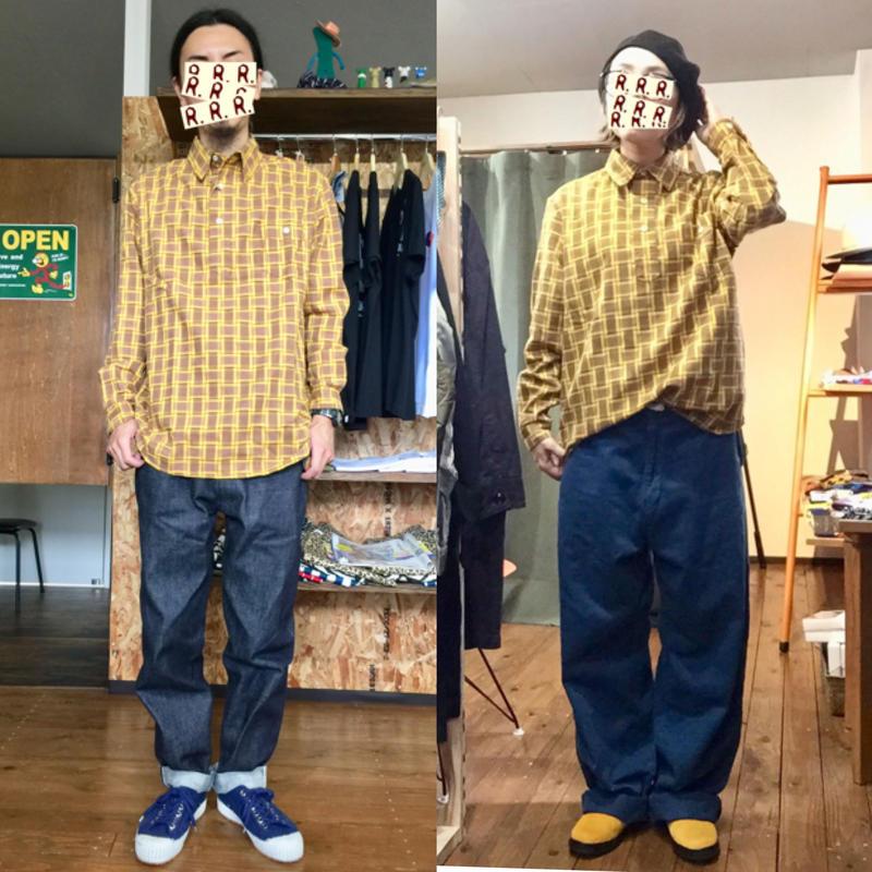 【dip】【dzt 】プルオーバーシャツ