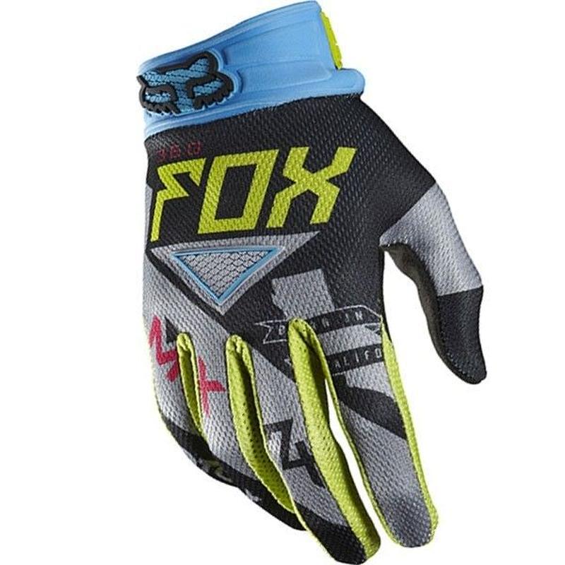 ■ FOX RACING  360グローブ INTAKE  グリーン/ブルー サイズ・M