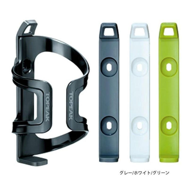 TOPEAK(トピーク) デュアルサイド ケージ EX グレー/ホワイト/グリーン