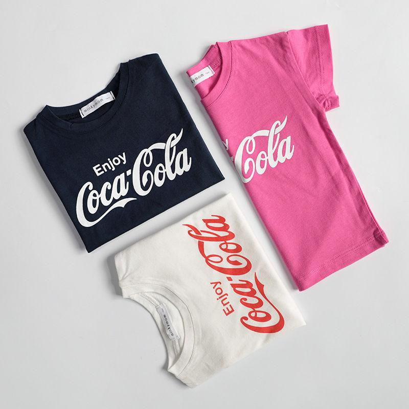 コーラロゴTシャツ