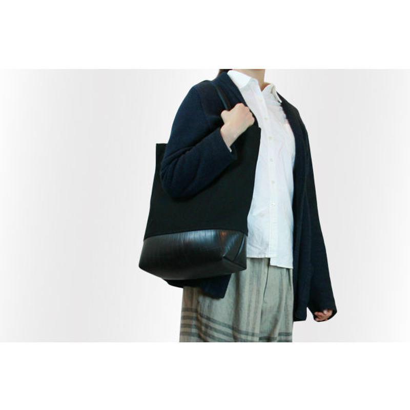 Mini Meena : Tote bag ブラック