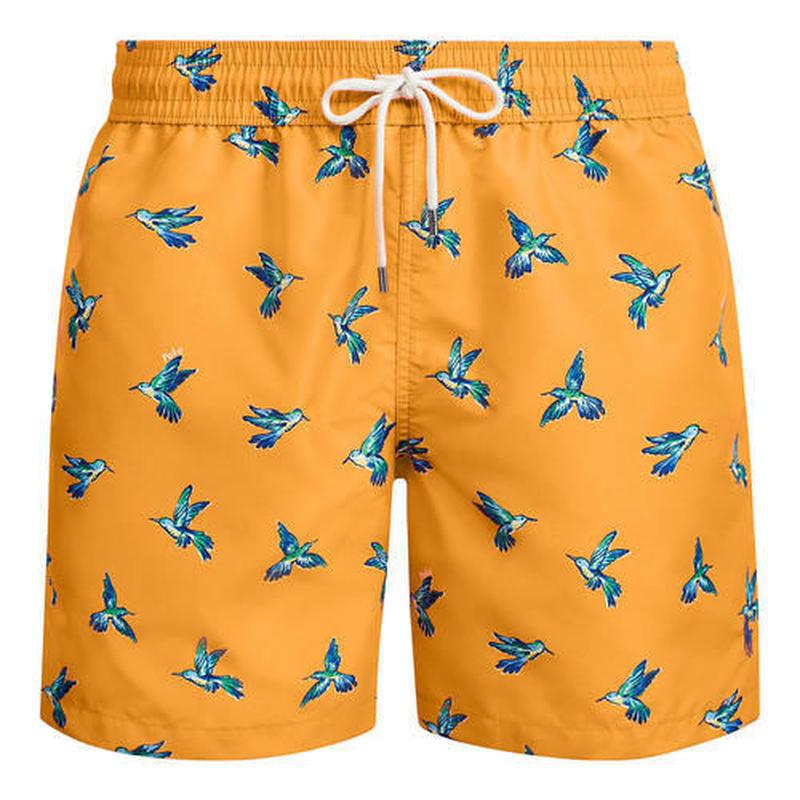 【残り僅か】POLO RALPH LAUREN  haming bird swim shorts(Orange)