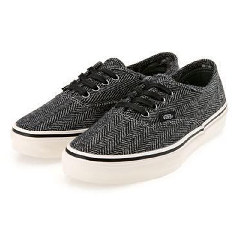 【ラス1】VANS AUTHENTIC V44CL SNT (Black × White)