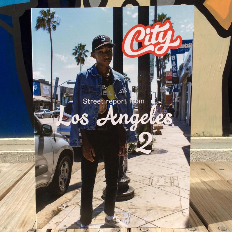"""【残り僅か】City magazine  """"LosAngeles 2"""" street snap book"""