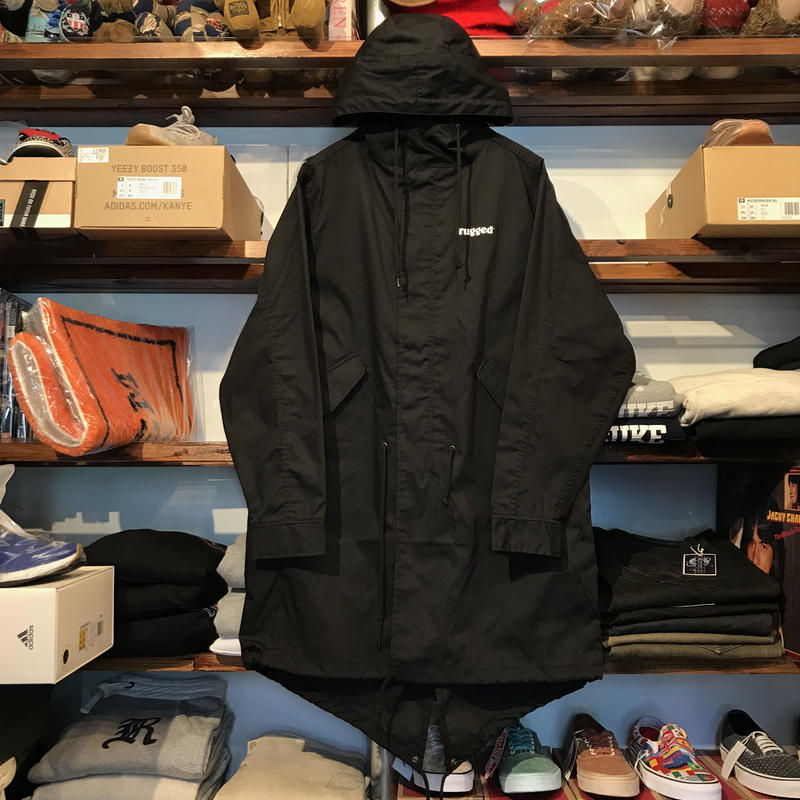 "【ラス1】RUGGED""rugged®︎""mods coat (Black)"