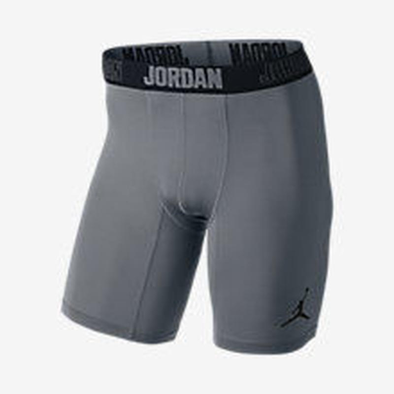 【残り僅か】JORDAN  15cm AJ ALL SEASON CONPREION MENS TRAINING SHORTS(Gray)