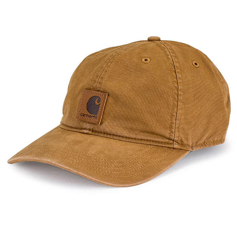 Carhartt odessa velcro cap (Brown)