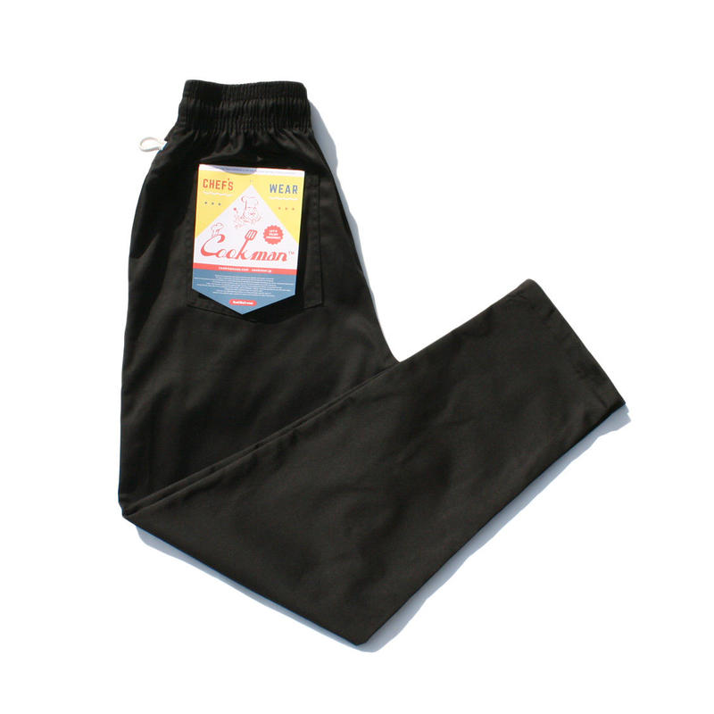 【ラス1】Cookman Chef Pants (Black)