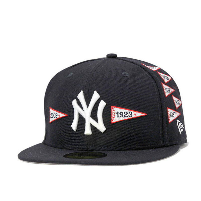 "【残り僅か】 NEWERA 59FIFTY  ""Spike Lee Joint"" Pennant cap (Black)"