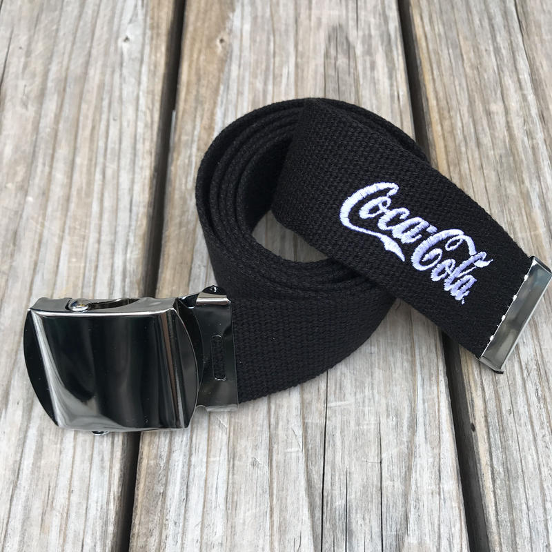 【ラス1】SECOND LAB. Coca-Cola belt (Black)