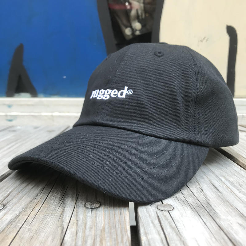 "【ラス1】RUGGED ""rugged®︎""  adjuster cap  (Black)"