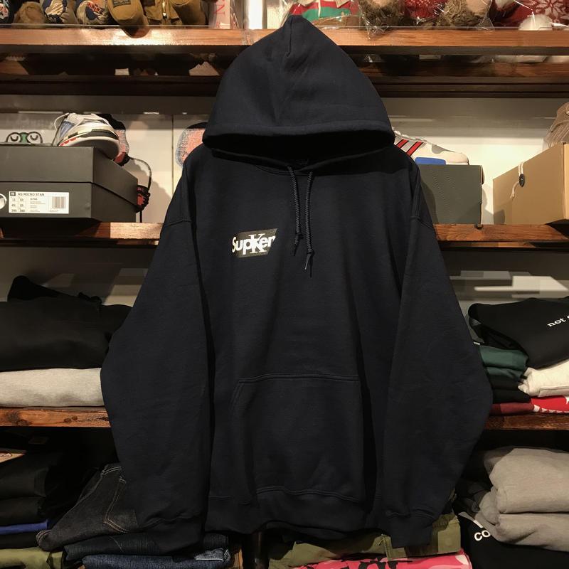 """【ラス1】RUGGED """"Sucker"""" sweat hoodie (Navy)"""