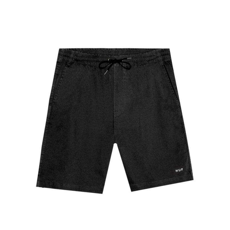 【残り僅か】HUF HUDSON EASY SHORT (Black)