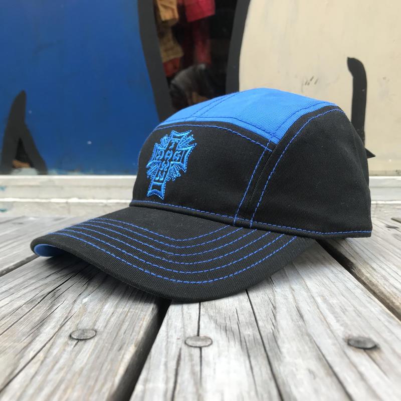 【ラス1】DOGTOWN logo 5Panel cap (Blue)