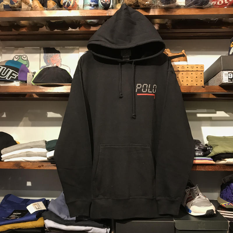 "【ラス1】THE ROHE PROJECT  ""RL:2000"" reflective hoodie (Black)"