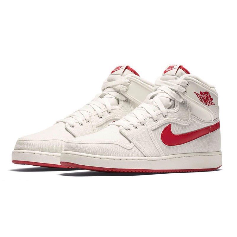 "【ラス1】 NIKE ""AIR JORDAN 1 KO HIGH"" OG (SAIL/VARSITY RED)"